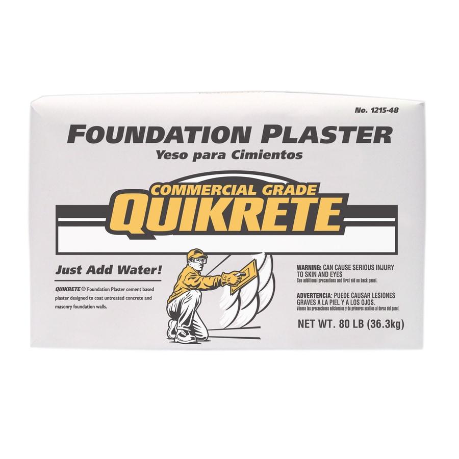 QUIKRETE 80-lb Bag Premixed Foundation Plaster