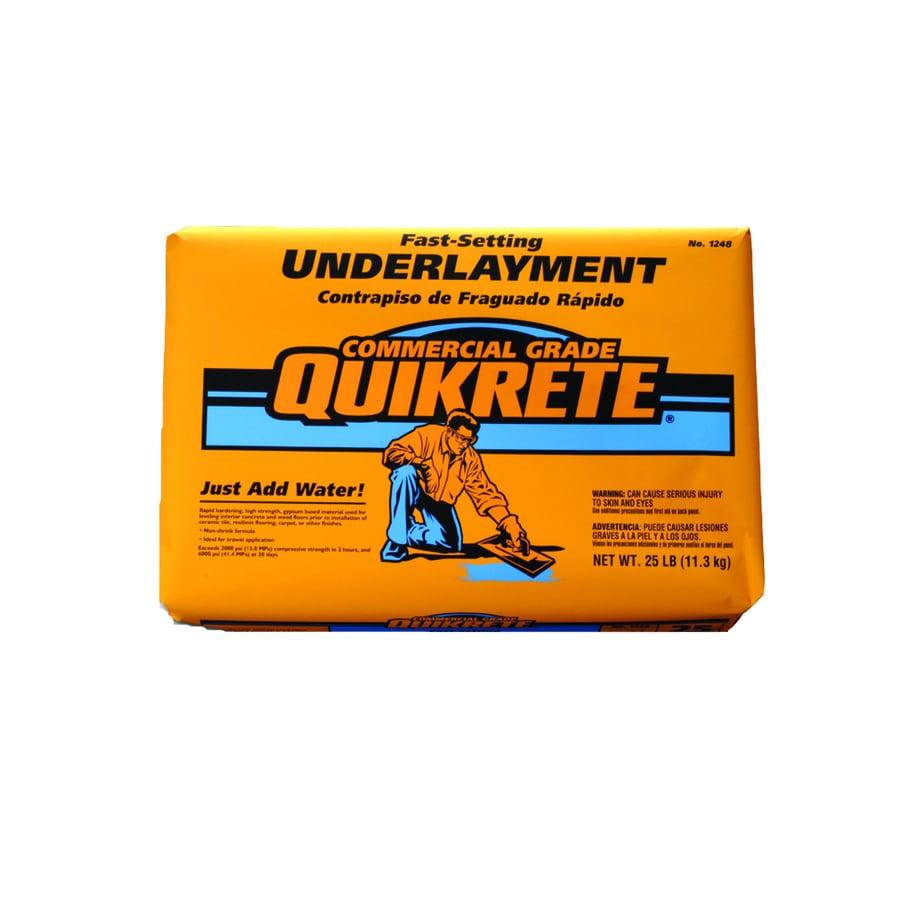 QUIKRETE 25-lb Gray Fast Setting Concrete Mix