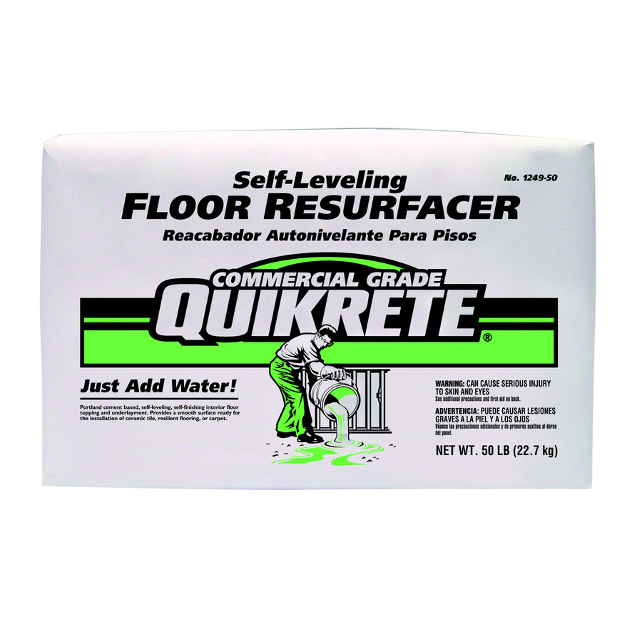 Level Quick Floor Leveler : Shop quikrete lb gray high strength concrete mix at