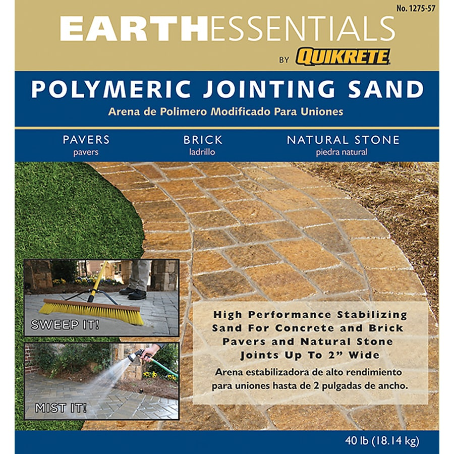 EARTHESSENTIALS BY QUIKRETE 40-lb Polymeric Jointing and Polymeric Sand
