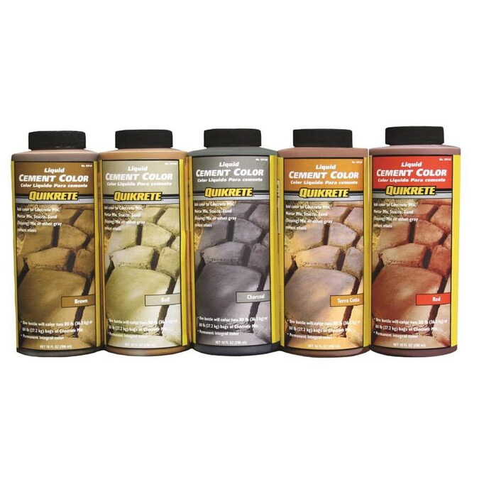 Quikrete Red Cement Color Mix In The Cement Color Mix Department At Lowes Com