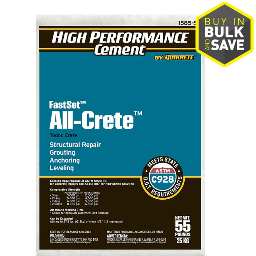 High Performance Cement by Quikrete Cement Mix