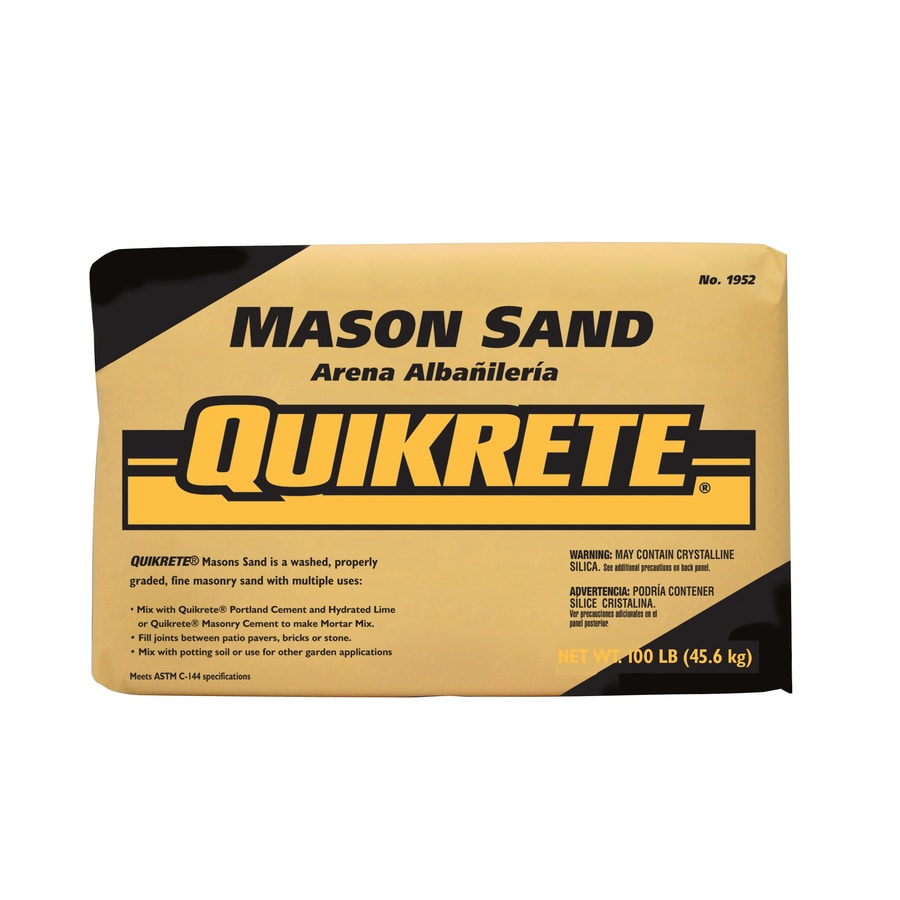 QUIKRETE 100-lb Dry Mason Sand