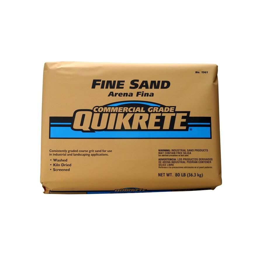 QUIKRETE 80-lb Commercial Grade Fine Sand