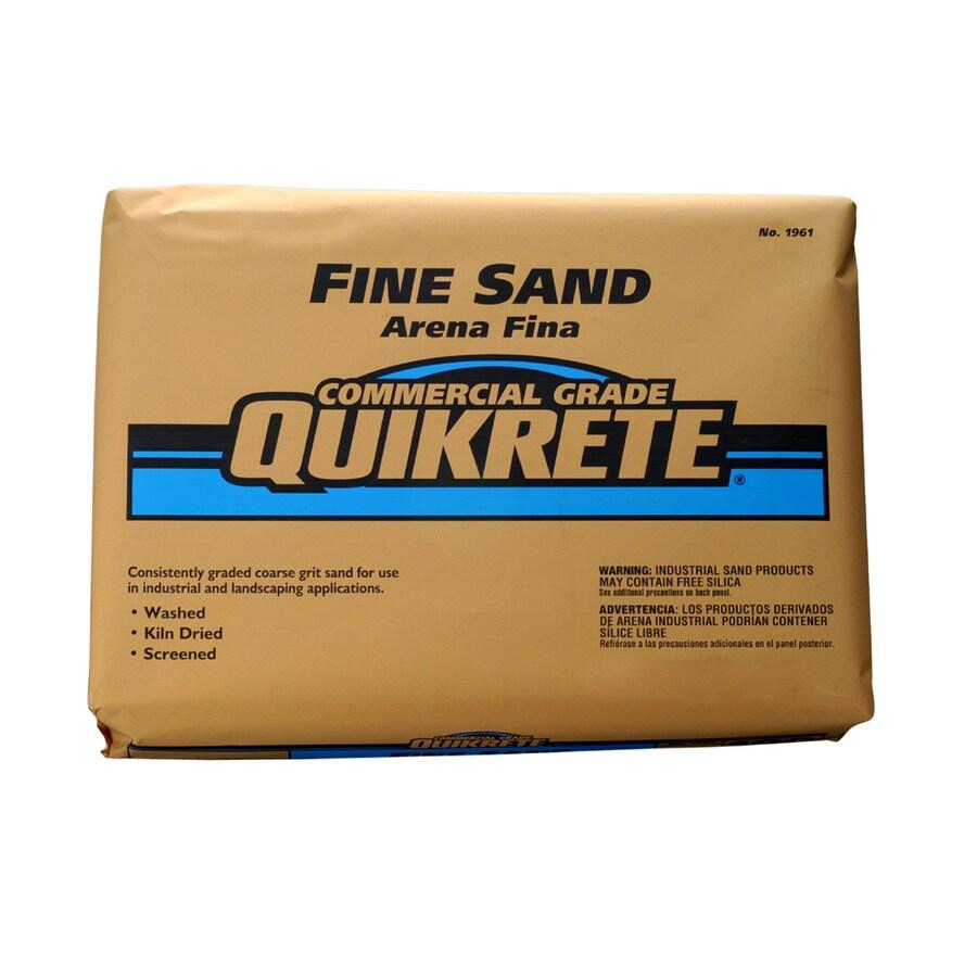 QUIKRETE 50-lb Commercial Grade Fine Sand