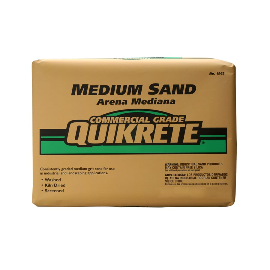 QUIKRETE 50-lb Commercial Grade Medium Sand