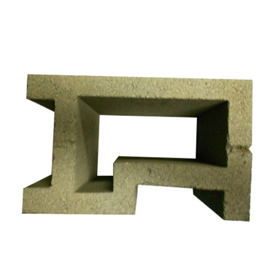 QUIKRETE Concrete Corner Fence Block (Common: 8-in x 10-in x 16-in; Actual: 7.625-in x 9.625-in x 15.625-in)
