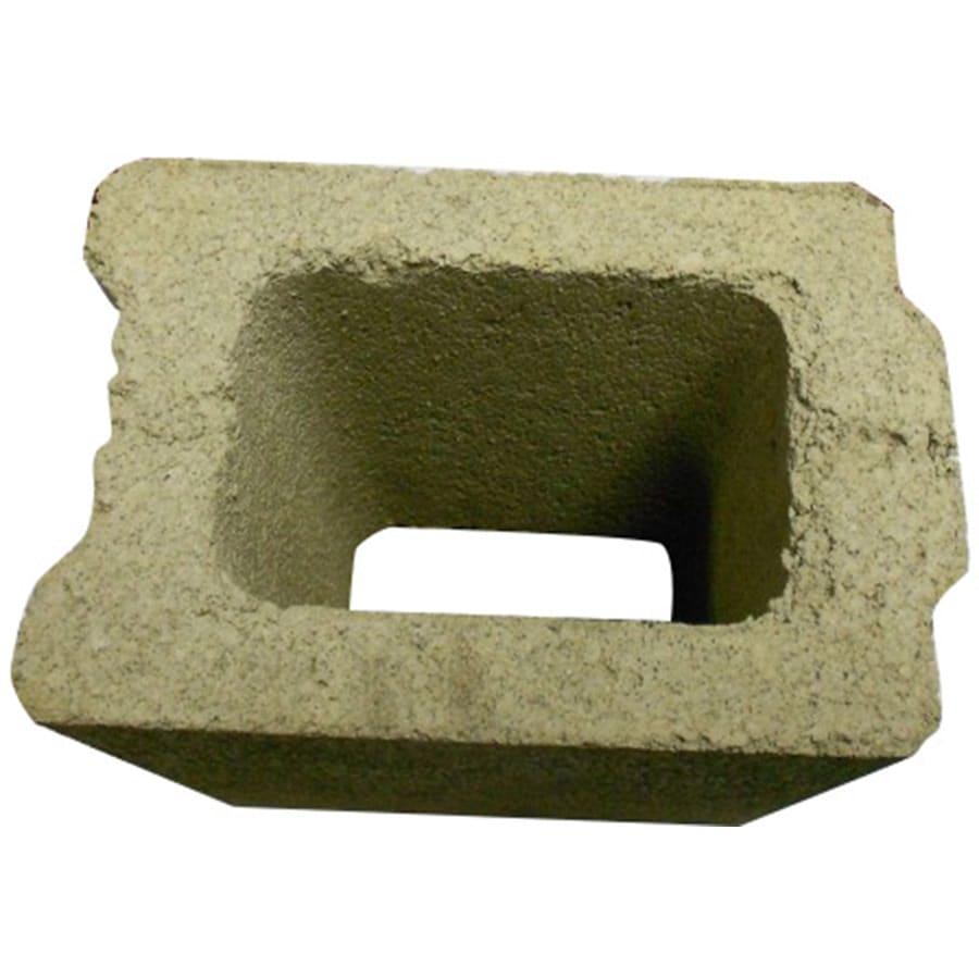 QUIKRETE Concrete Fence Block (Common: 8-in x 6-in x 8-in; Actual: 7.625-in x 5.625-in x 7.625-in)
