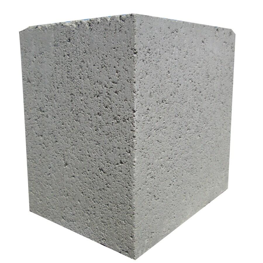 Standard Cored Concrete Block (Common: 6-in x 8-in x 8-in; Actual: 5.625-in x 7.625-in x 7.625-in)