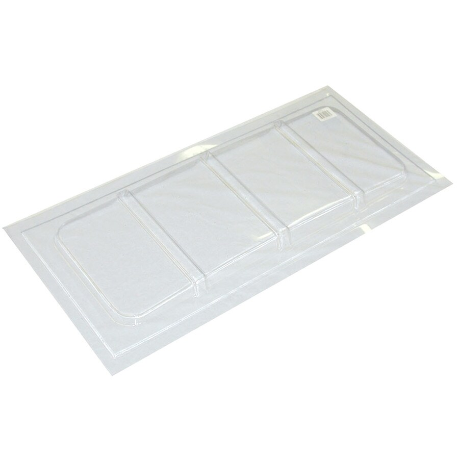 MacCourt 35-in x 16-1/2-in x 1-in Plastic Basement Window Well Covers
