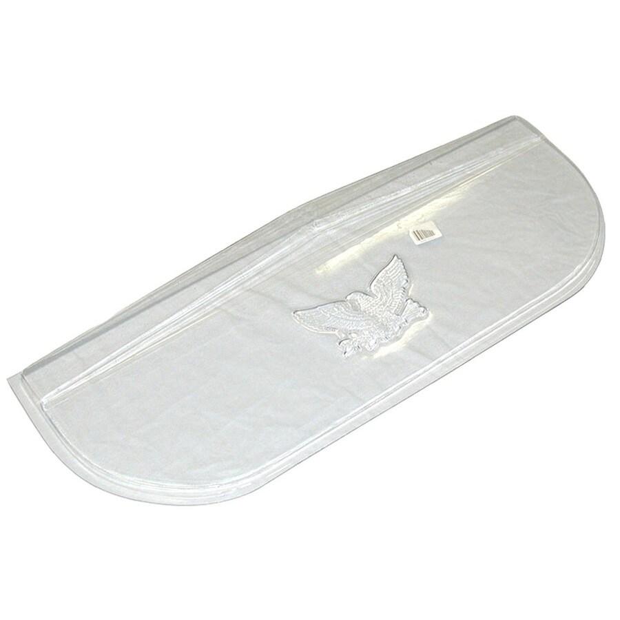 MacCourt 40-in x 13-in x 3-1/2-in Plastic Elongated Low Profile Basement Window Well Covers