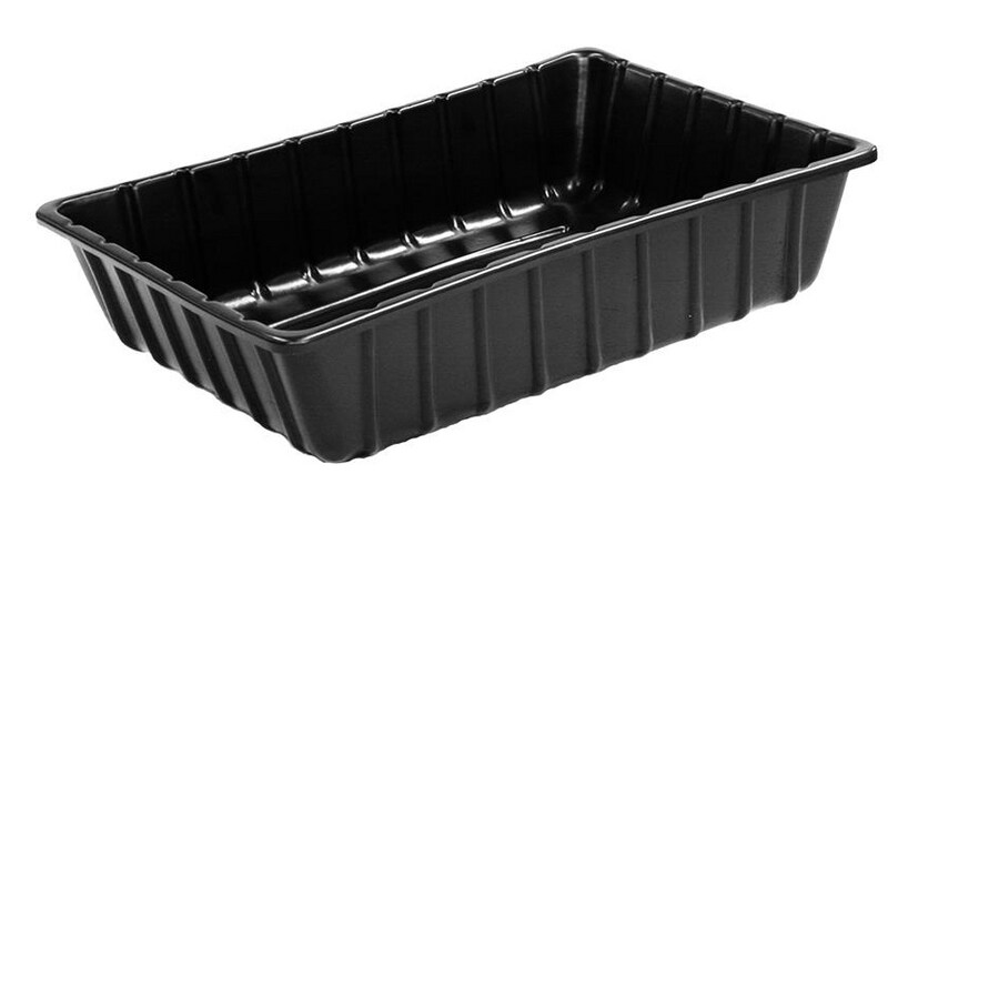 36-in x 24-1/2-in High Density Polyethylene Large Black Mixing Tub
