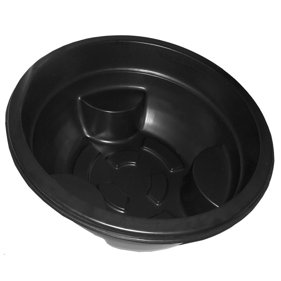 Shop Maccourt 35 Gallon Black High Density Polyethylene Pond Liner At