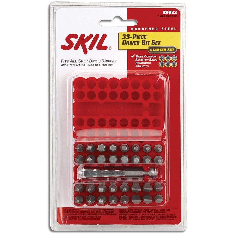 Skil 33-Piece Screwdriver Bit Set
