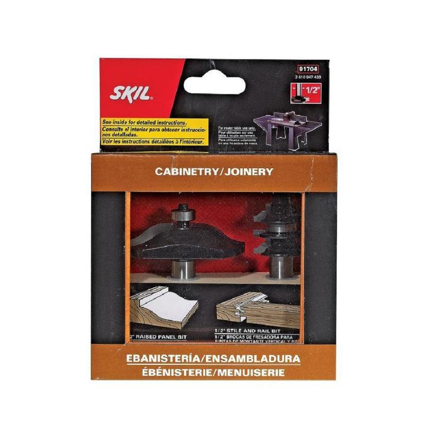Skil Ogee Stile and Rail Bit Set