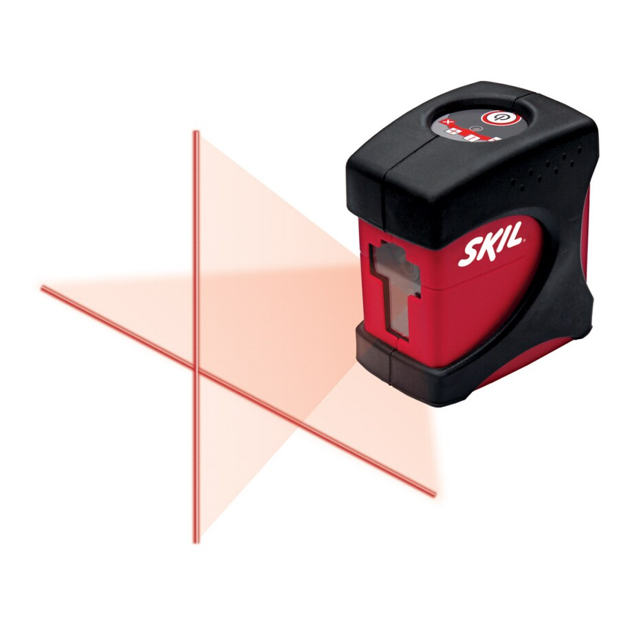 Skil 30-ft Beam Self-Leveling Cross-Line Laser Level