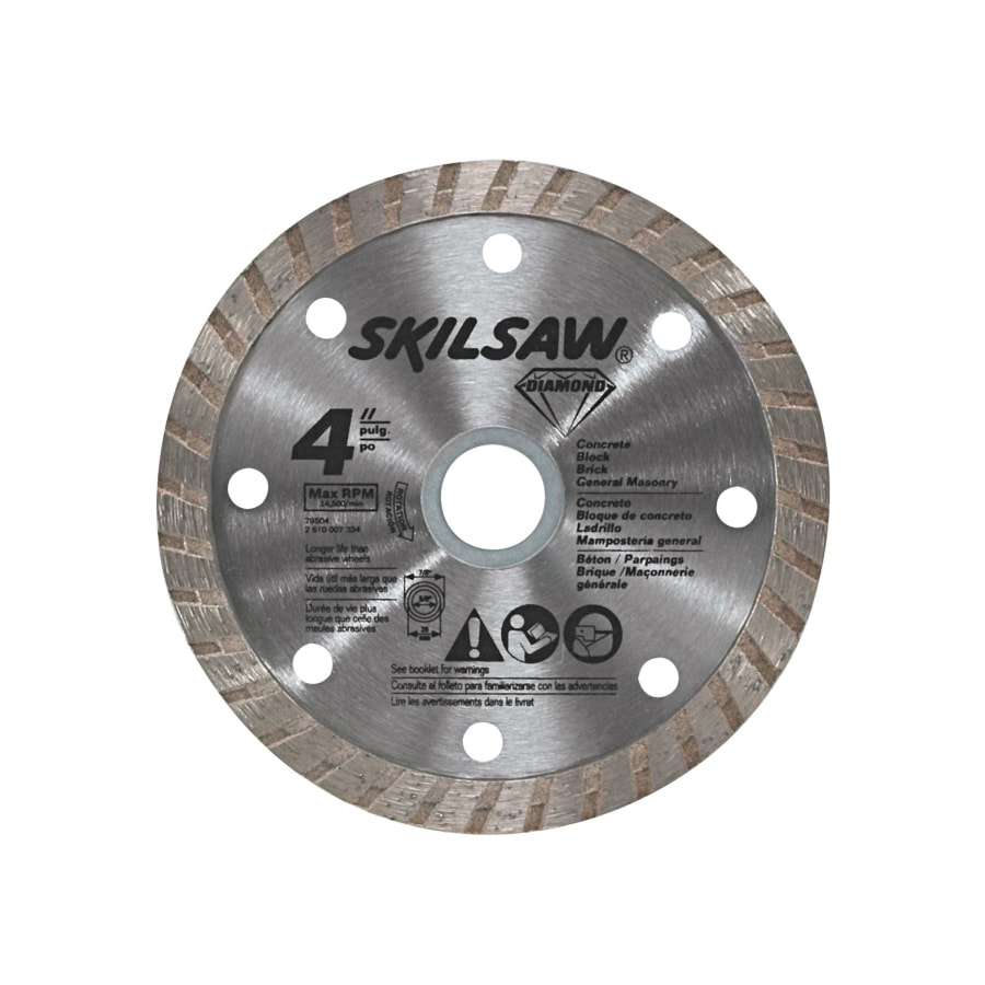 Skil 4-in Wet or Dry Turbo Diamond Circular Saw Blade