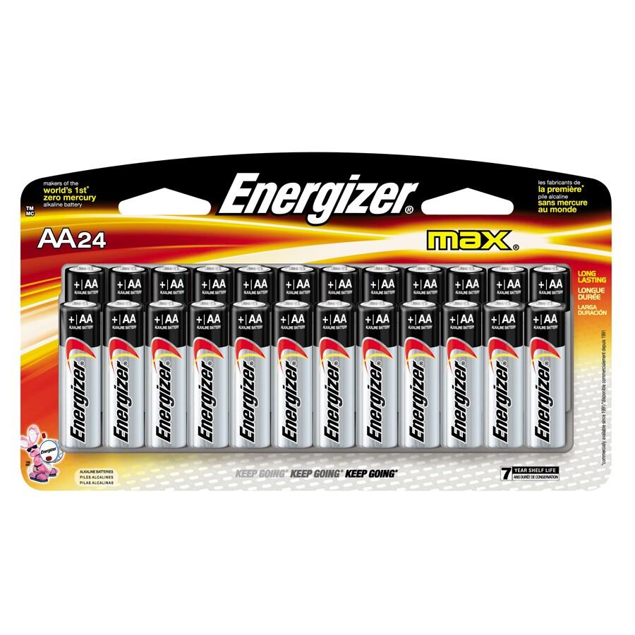 Energizer 24-Pack AA Alkaline Battery