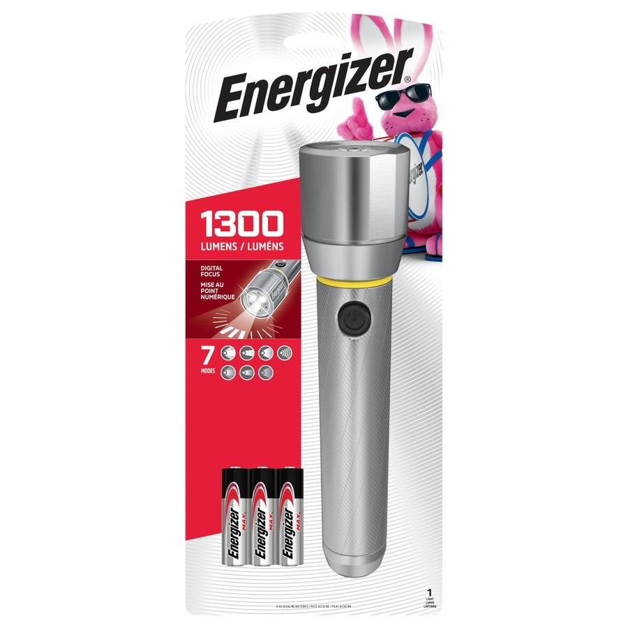 Energizer LED Tactical Flashlight 1000 Ultra Bright High Lumens Metal Body