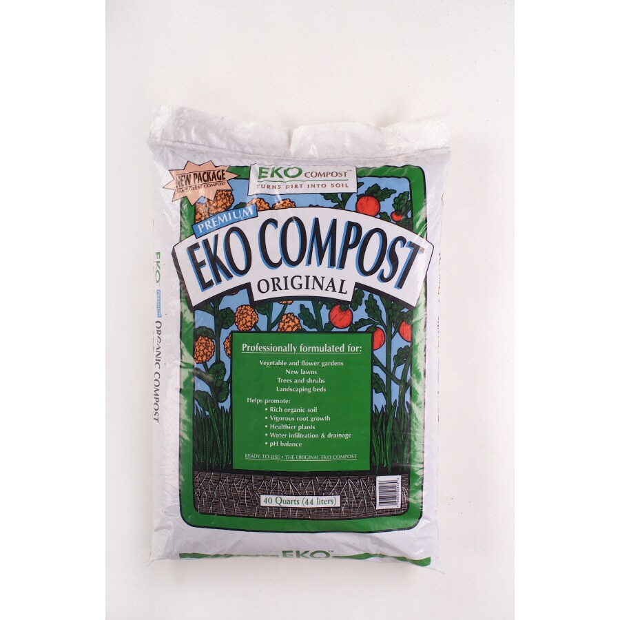 Eko 1.5-cu ft Organic Compost
