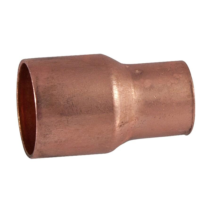 3/8-in x 1/4-in Copper Slip Coupling Fitting
