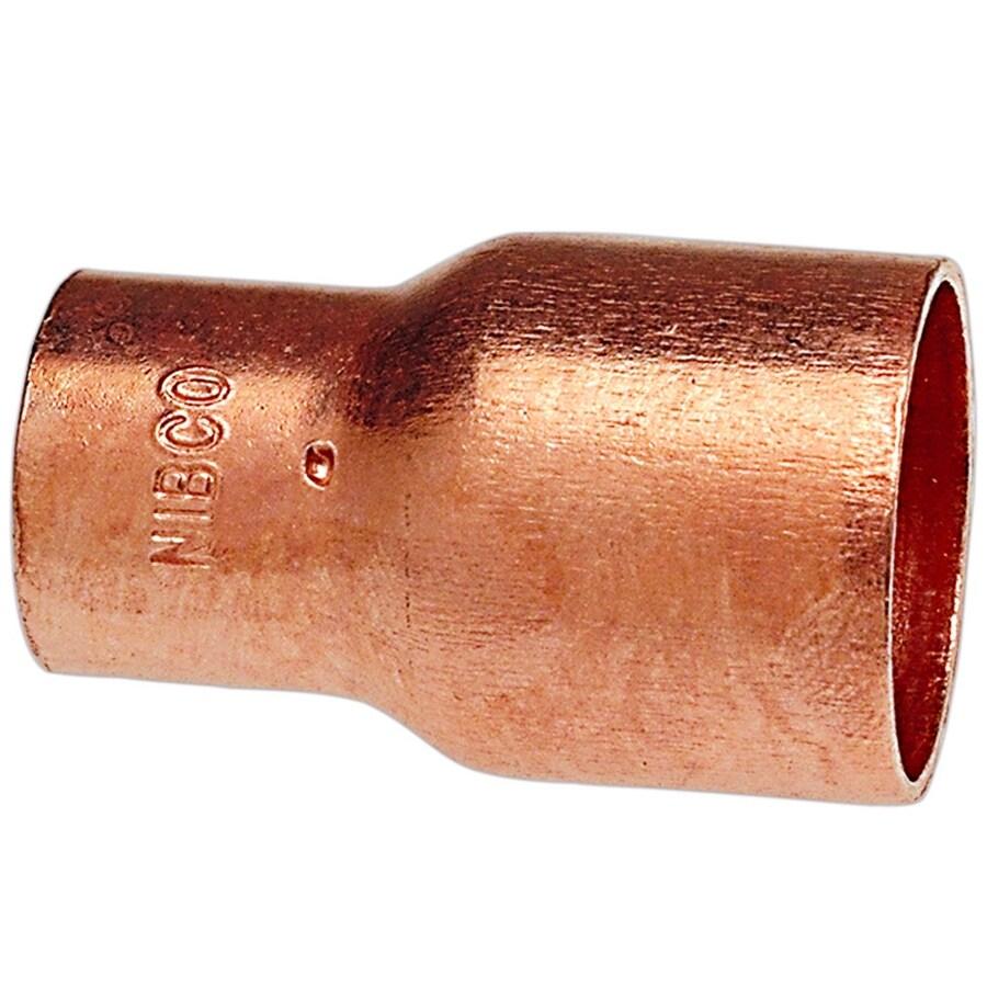 NIBCO 3/4-in x 1/2-in Copper Slip Coupling Fitting