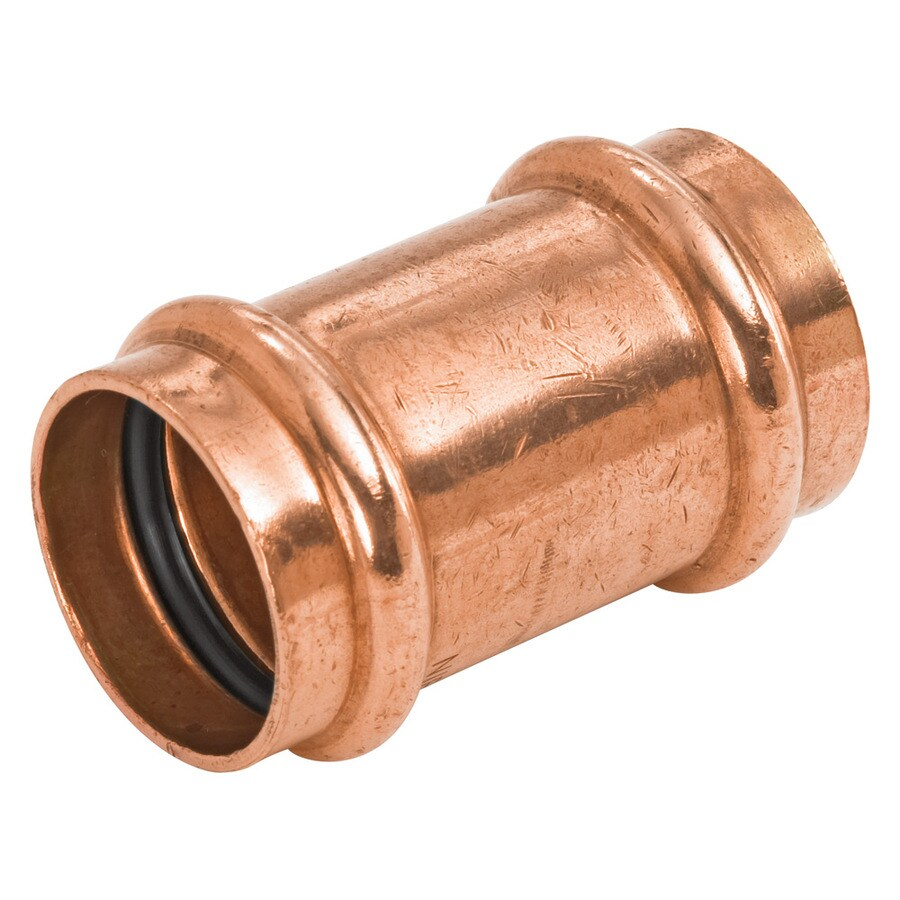 NIBCO 1-in x 1-in Copper Press-Fit Coupling Fitting