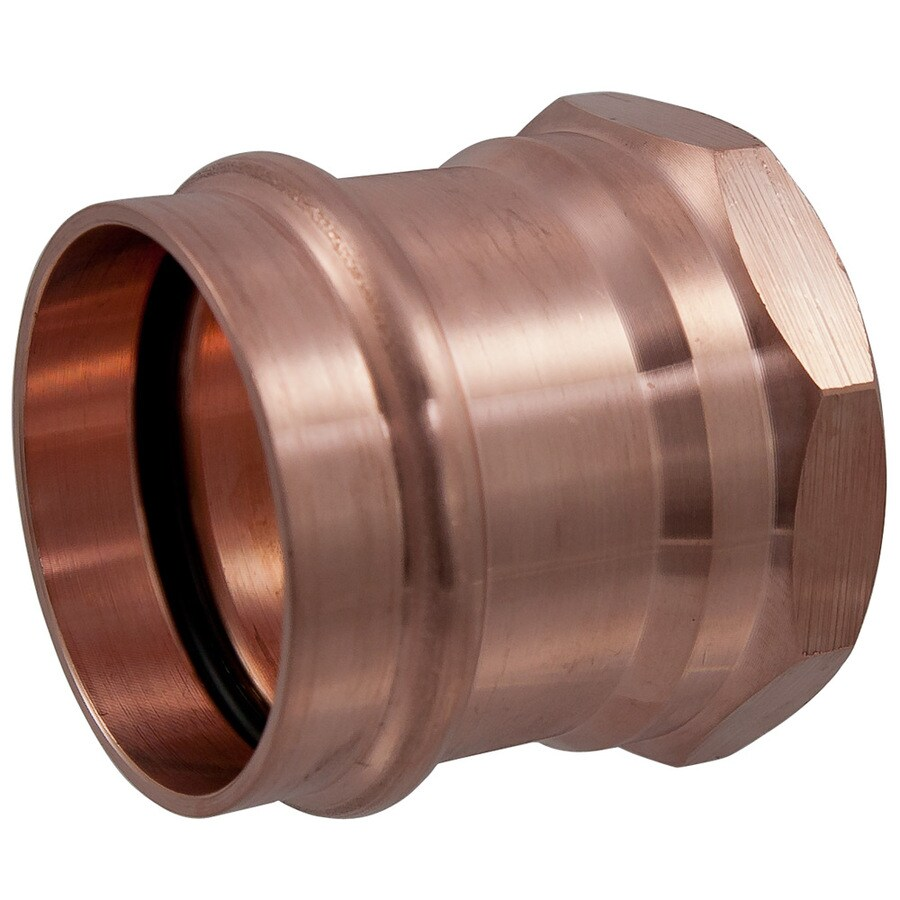 3/4-in x 3/4-in Copper Press-Fit Adapter Fitting