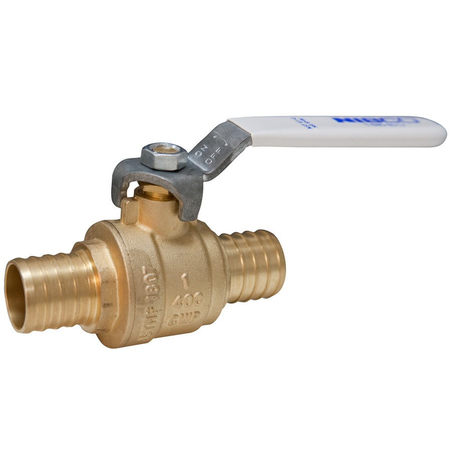 3/4-in Bronze Pex In-Line Ball Valve