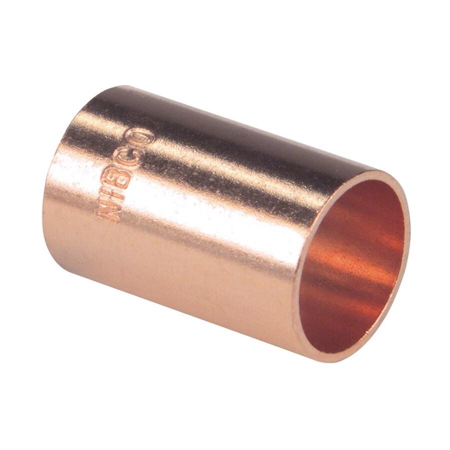 1-1/4-in x 1-1/4-in Copper Slip Coupling Fitting