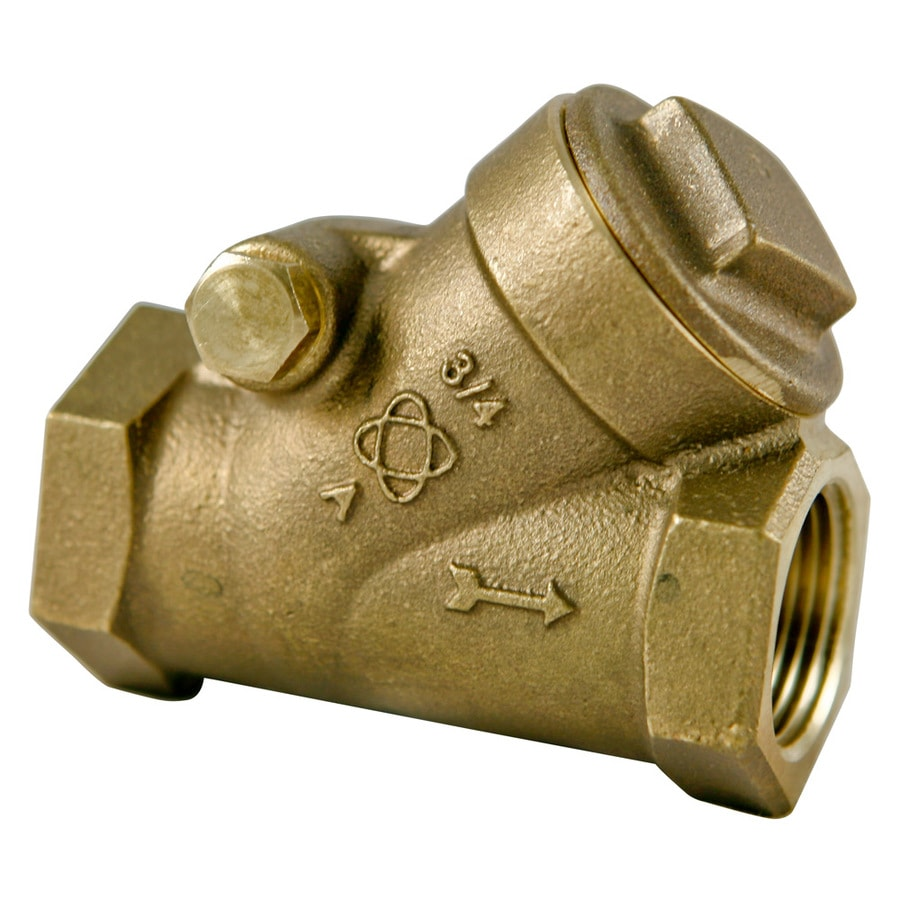 NIBCO 1/2-in Bronze Sweat In-Line Check Valve