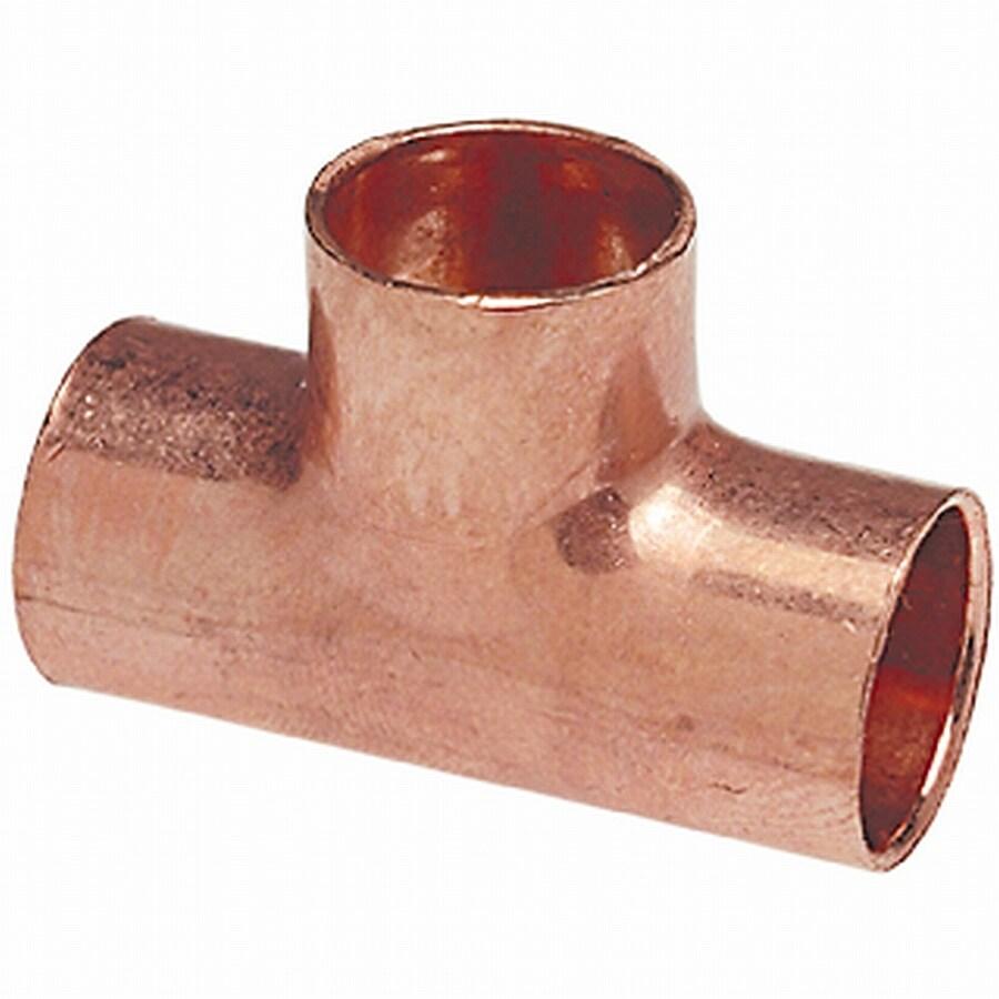 1-1/2-in x 1-1/2-in x 1-1/2-in Copper Slip Tee Fitting