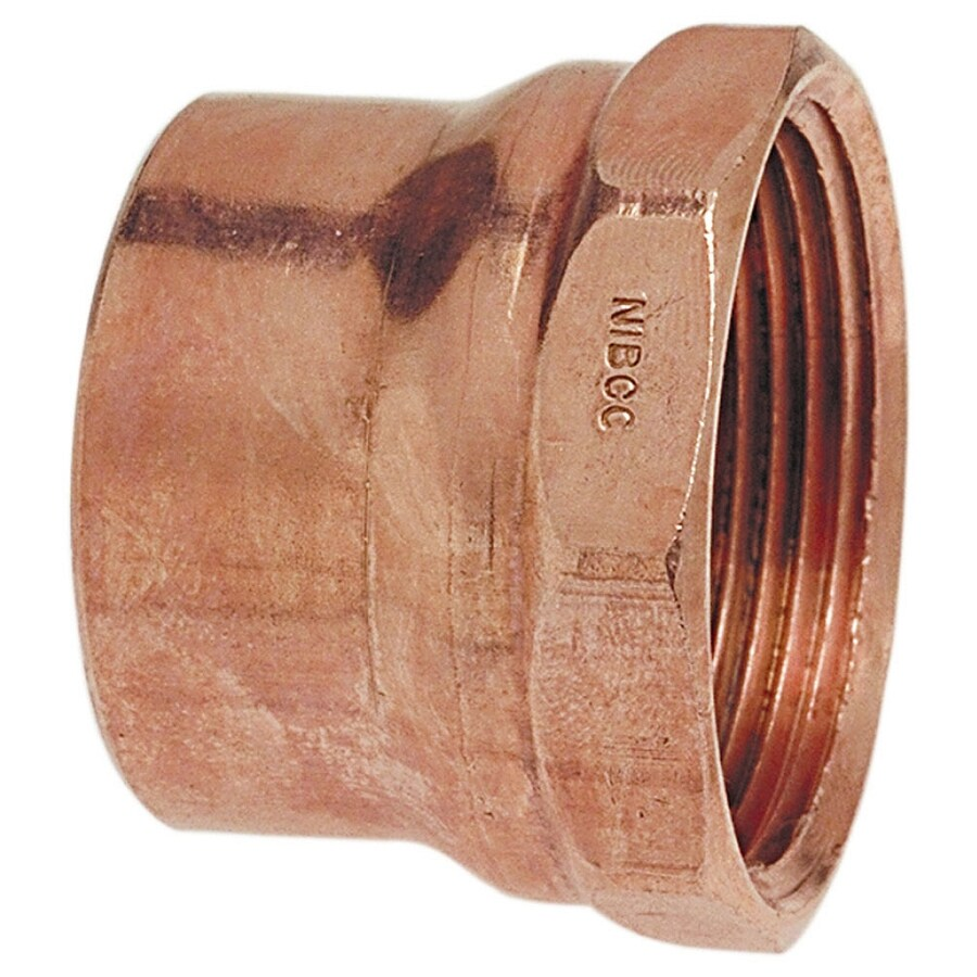 1-1/2-in x 1-1/2-in Copper Threaded Adapter Fitting
