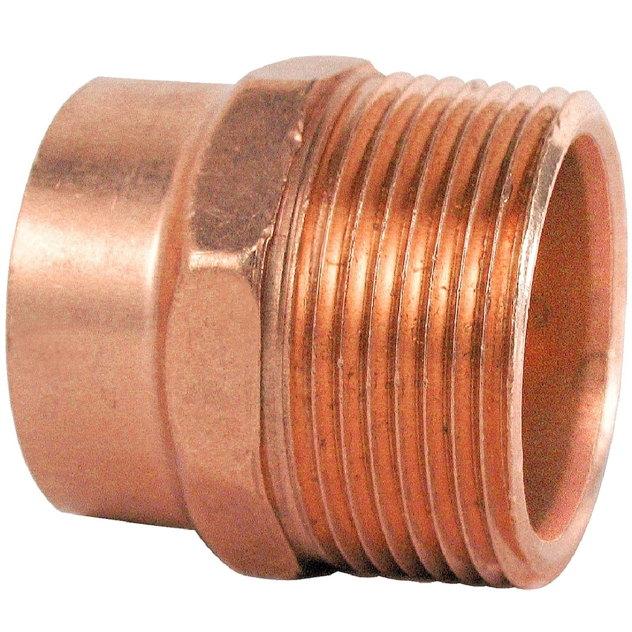 1-1/4-in x 1-1/4-in Copper Threaded Adapter Fitting
