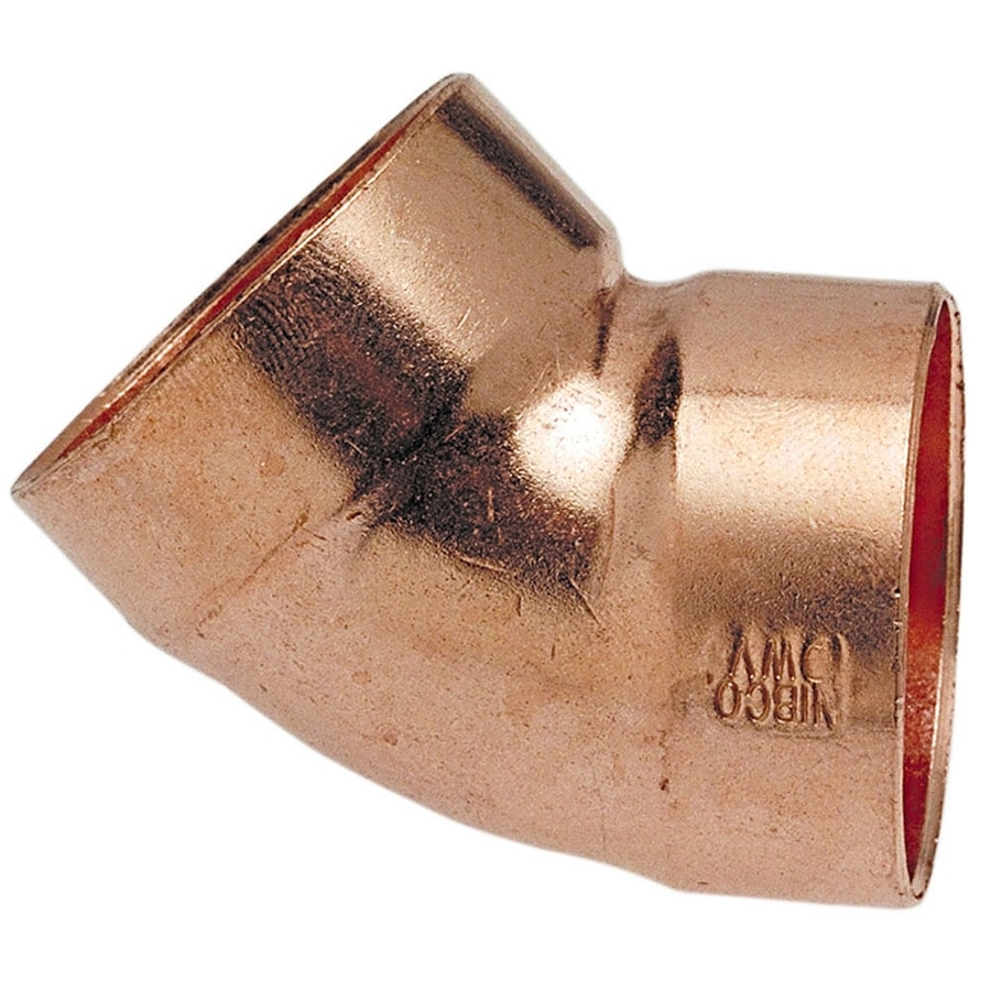 1-1/2-in x 1-1/2-in 45-Degree Copper Slip Elbow Fitting