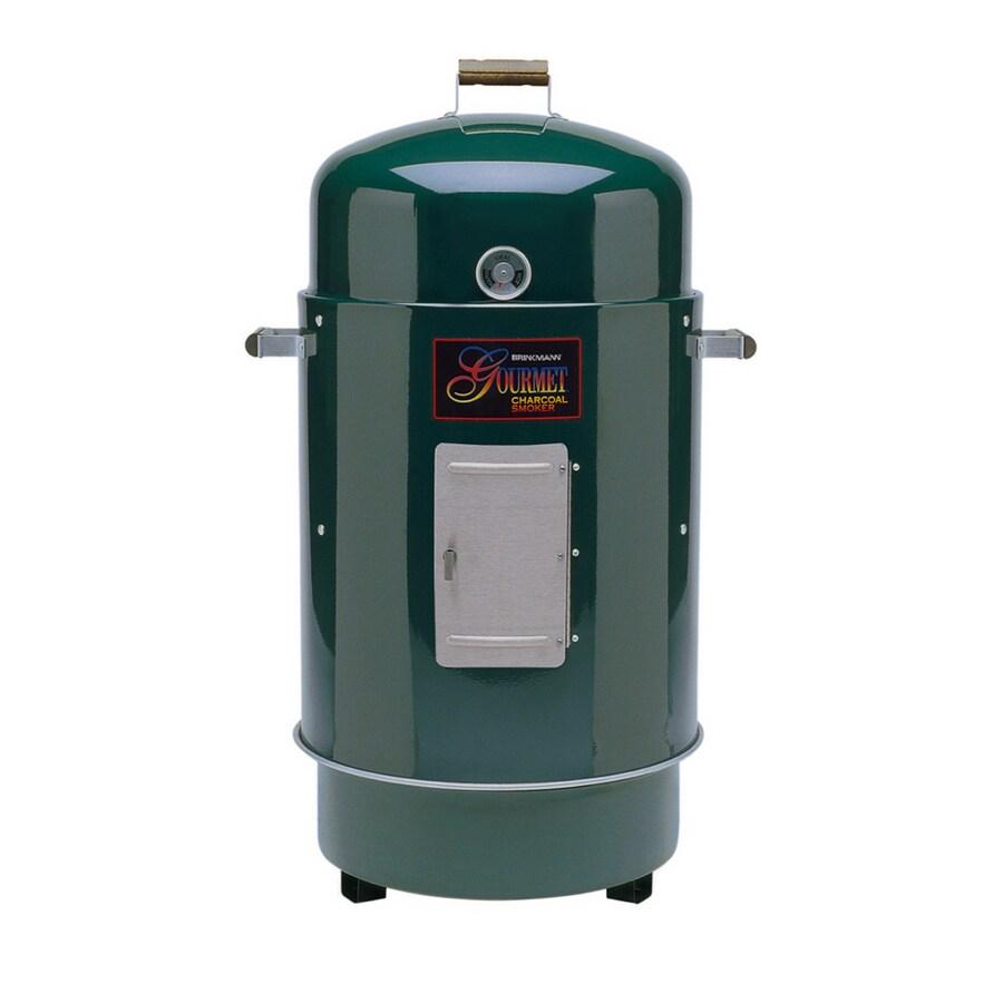 Brinkmann Green Gourmet Charcoal Smoker