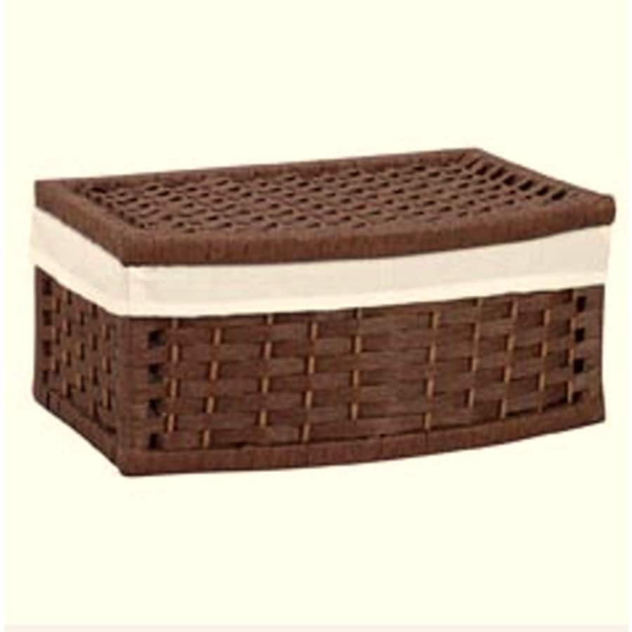 Household Essentials 15.75-in W x 10.7-in D Curved Basket
