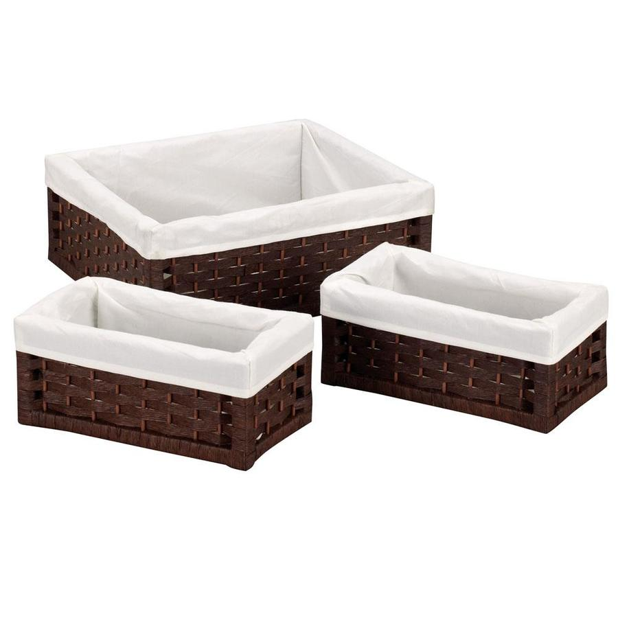 Household Essentials 16-in W x 14.4-in D Utility Basket