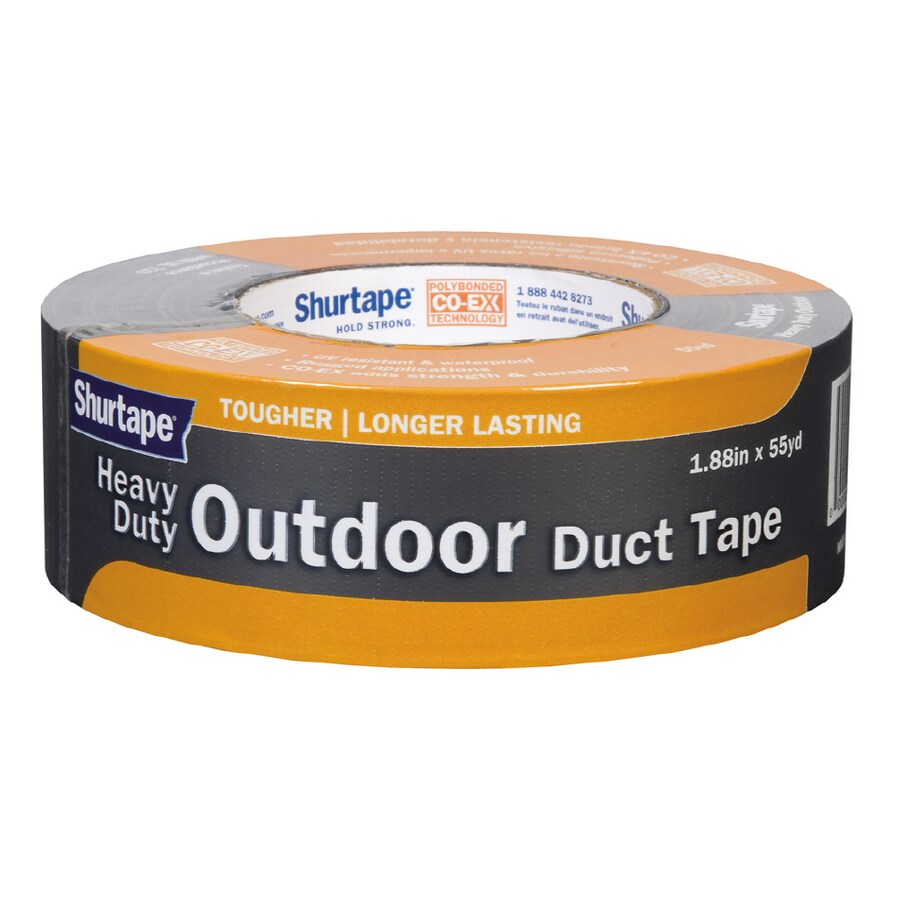 Shurtape 1.88-in x 165-ft Silver Duct Tape