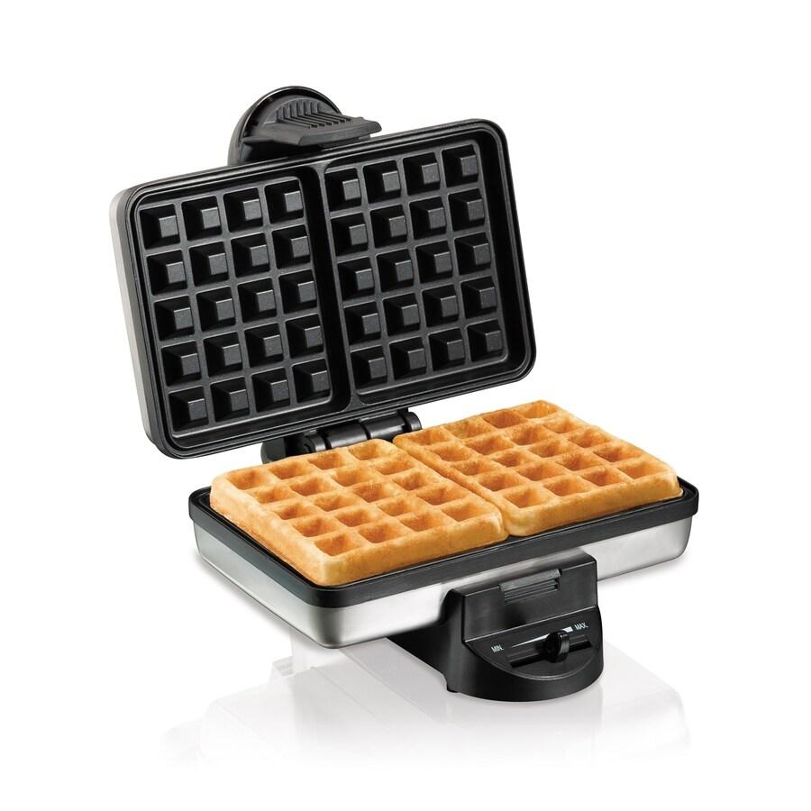 Hamilton Beach Square Belgian Waffle Maker