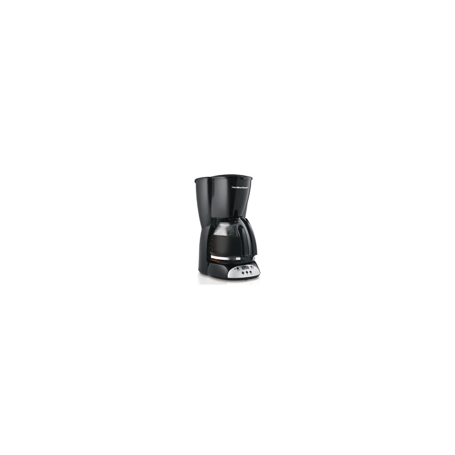 Hamilton Beach Black 12-Cup Programmable Coffee Maker
