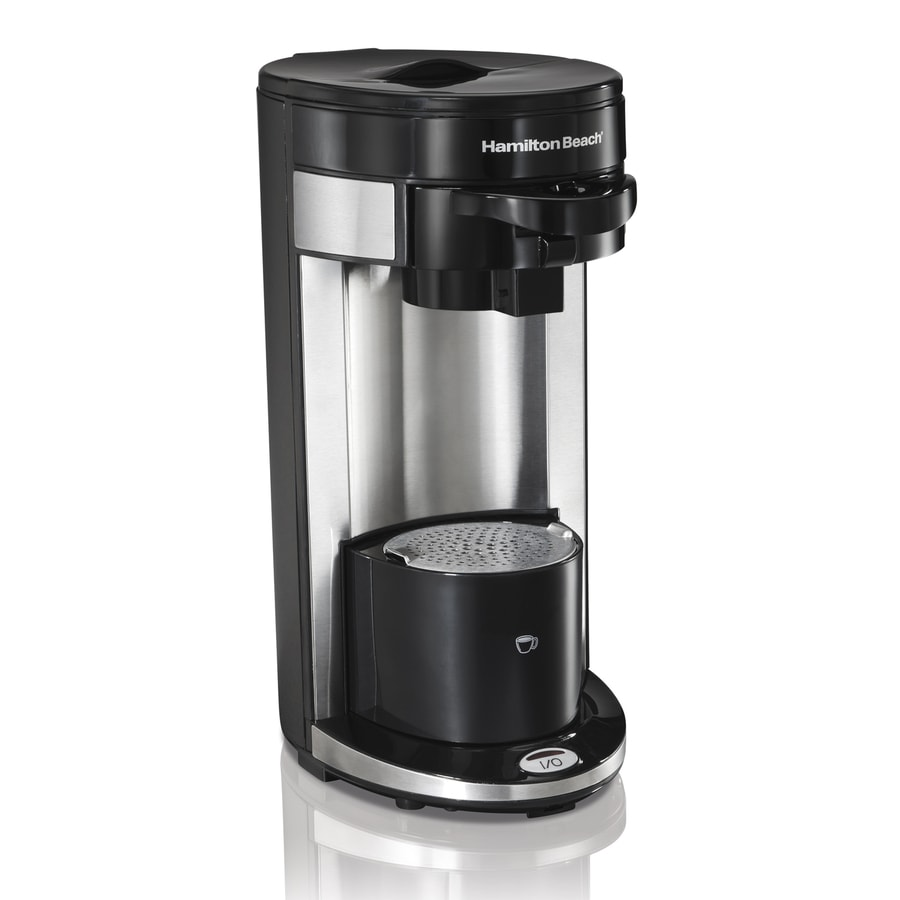 Hamilton Beach Flex Brew Black Single-Serve Coffee Maker
