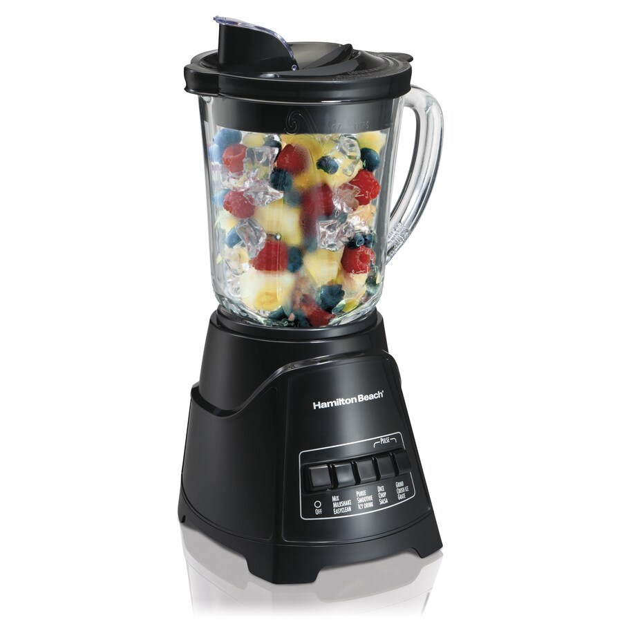 Hamilton Beach 40-oz Black 12-Speed 700-Watt Pulse Control Blender