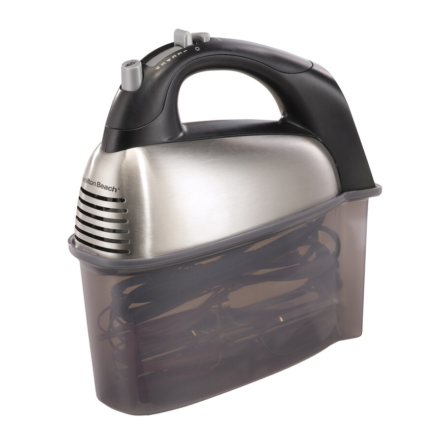 Hamilton Beach 6-Speed Stainless Hand Mixer