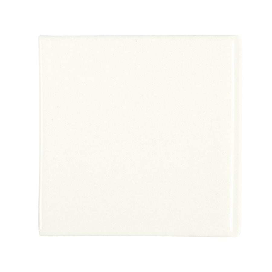KOHLER 6-Pack White Glazed Porcelain Bullnose Trim (Common: 4-1/2-in x 4-1/2-in; Actual: 4.25-in x 4.25-in)