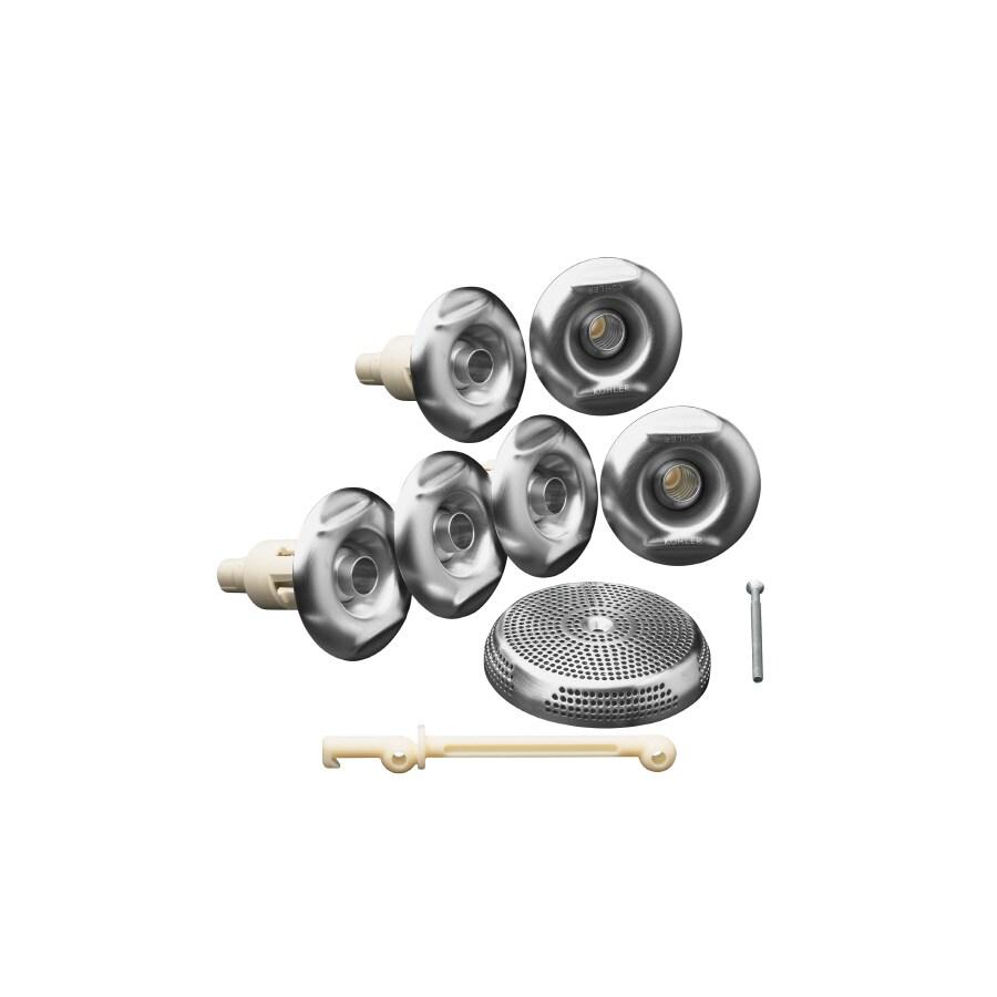 KOHLER Flexjet Whirlpool Trim Kit, Brushed Chrome
