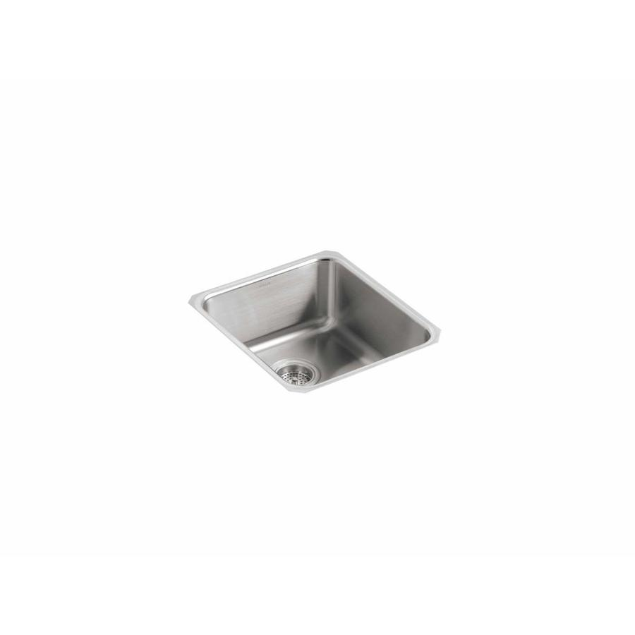 ... 75-in Stainless Steel Single-Basin Undermount Residential Kitchen Sink