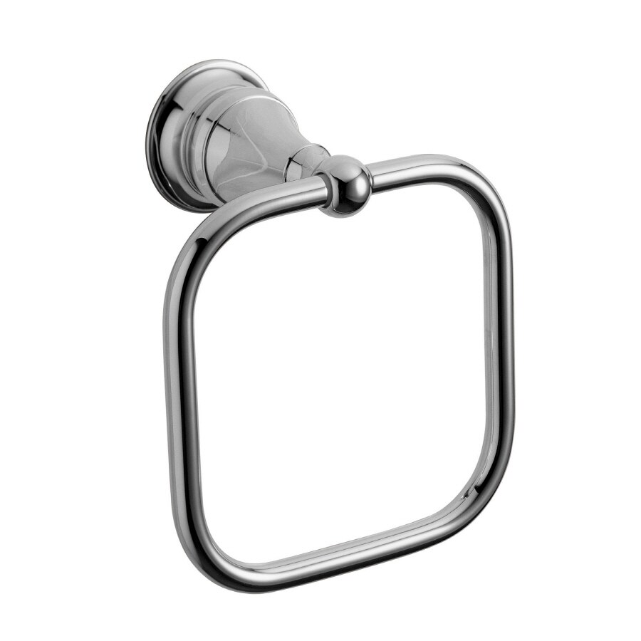 KOHLER Revival Polished Chrome Wall-Mount Towel Ring