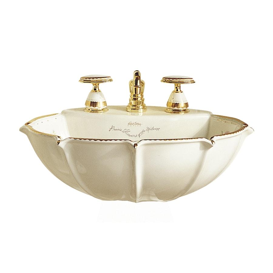 shop kohler anatole biscuit drop in oval bathroom sink at