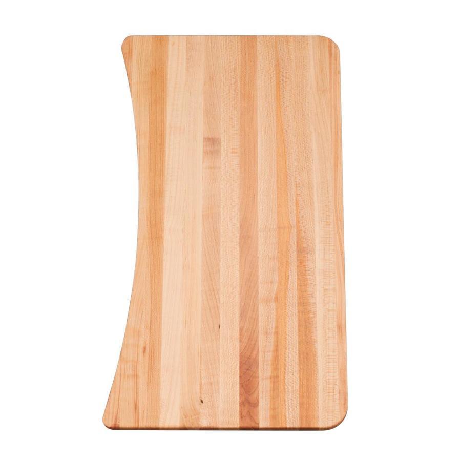 KOHLER 9.875-in L x 18.5-in W Wood Cutting Board